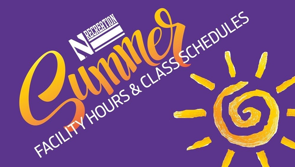 Summer Facility Hours & Class Schedules